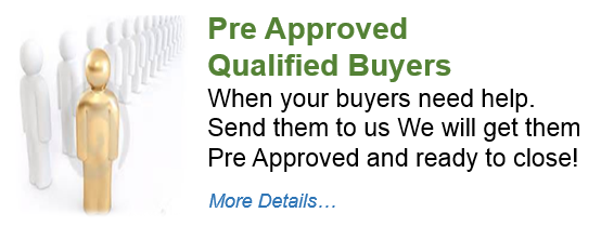 Pre Approved Buyers